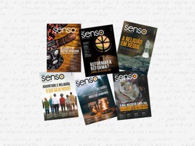 Revista Senso completa um ano