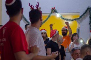 Voluntários Arco-Íris organizaram ceia de natal em Curitiba para LGBT+ distantes da família