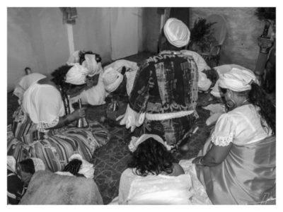 Espaço sagrado do candomblé